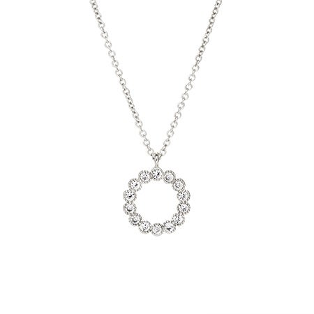 Fornash Holly Necklace in Silver