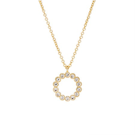 Fornash Holly Necklace in Gold