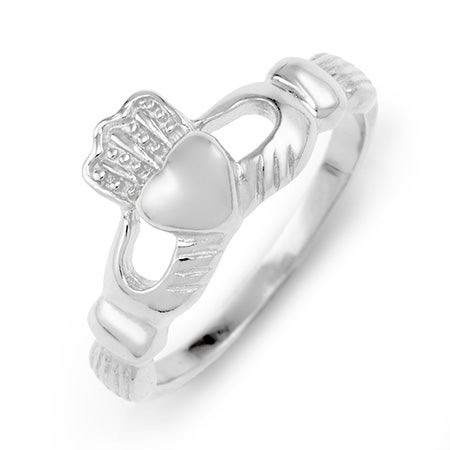 Sterling Silver Claddagh Ring | Eve's Addiction®