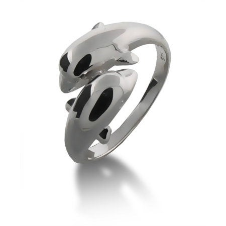 Sterling Silver Dolphin Ring | Eve's Addiction®