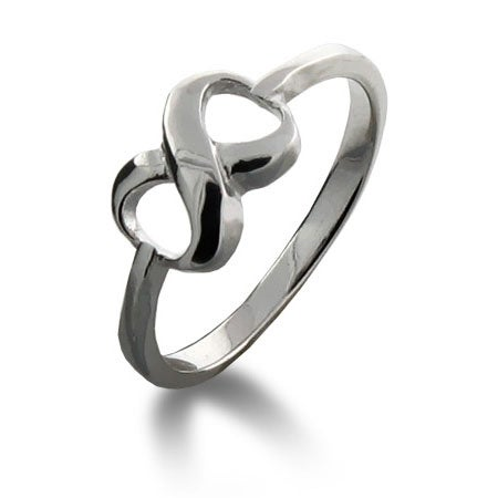 Designer Style Engraved Infinity Ring | Eve's Addiction®