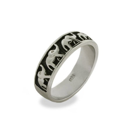 Lucky Parade of Elephants Ring | Eve's Addiction®