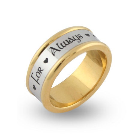 For Always Engravable Message Band | Eve's Addiction®