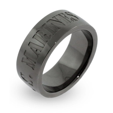 US Marines Engravable Military Ring | Eve's Addiction®
