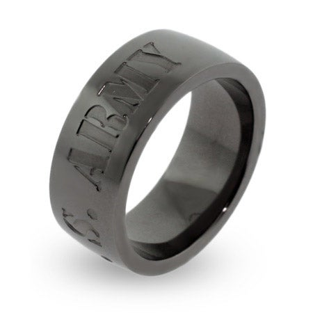 US Army Engravable Military Ring | Eve's Addiction®