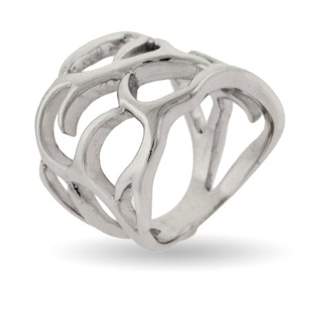 Woven Branches Sterling Silver Ring | Eve's Addiction®