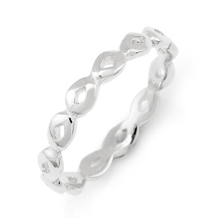 Sterling Silver Thin Stackable Ring | Eve's Addiction®