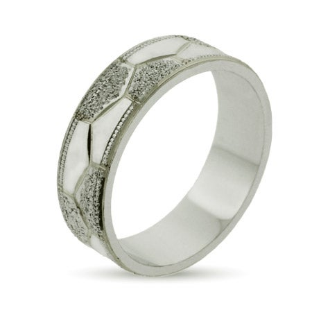 Eternity By Eve Sterling Silver Octet Wedding Band | Eve's Addiction®