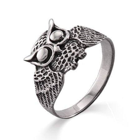 Sterling Silver Owl Ring | Eve's Addiction®