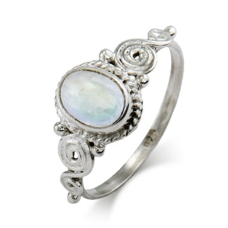 Vintage Moonstone Sterling Silver Ring | Eve's Addiction®