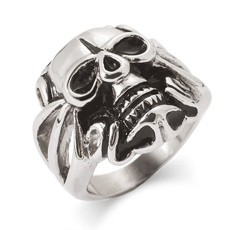 Men's Skull Ring in Stainless Steel | Eve's Addiction®