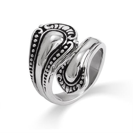 Spoon Ring in Vintage Style | Eve's Addiction®