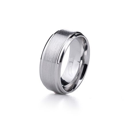 Men's Brushed Finish Cobalt Ring | Eve's Addiction®