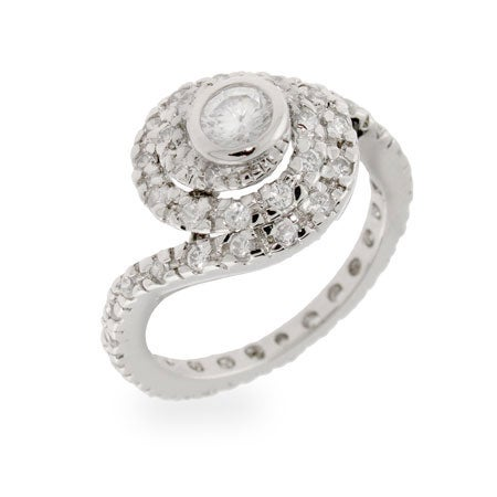 Celebrity Inspired Replica CZ Engagement Ring | Eve's Addiction®