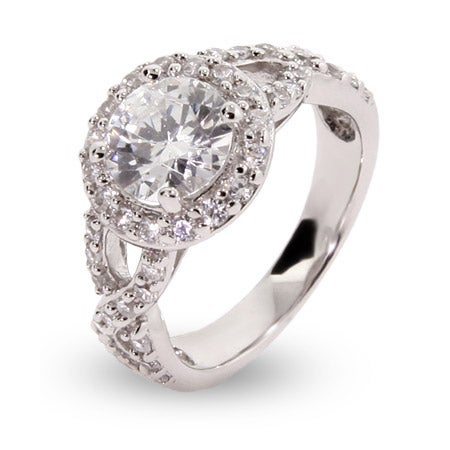 Encircled Round CZ Vintage Ring | Eve's Addiction