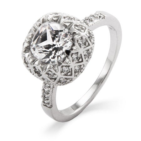 Art Deco Vintage Glam Diamond CZ Ring | Eve's Addiction®