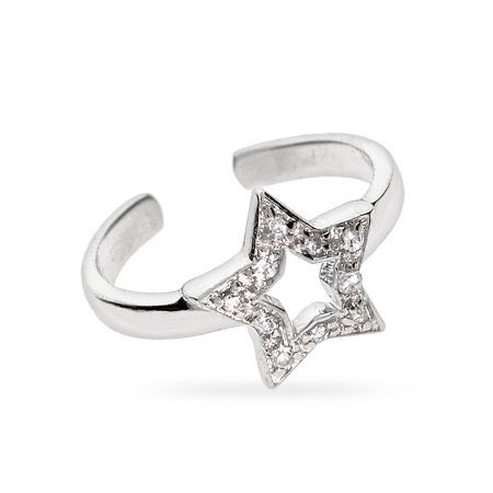 Star CZ Midi Ring | Eve's Addiction®