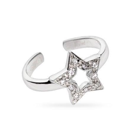 Star CZ Midi Ring | Eve's Addiction®