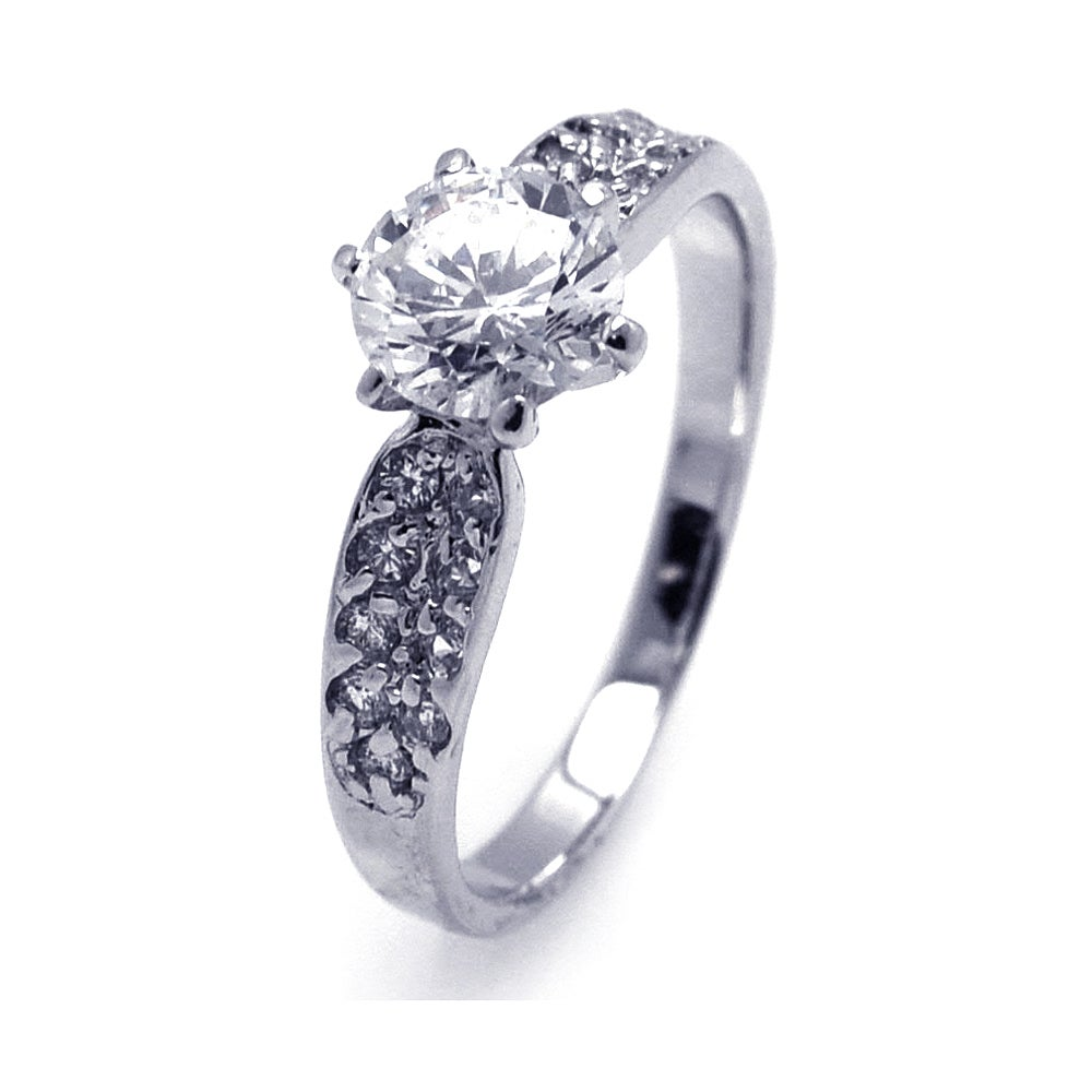 Vintage Style 2 Carat Brilliant Engagement Ring | Eve's Addiction®