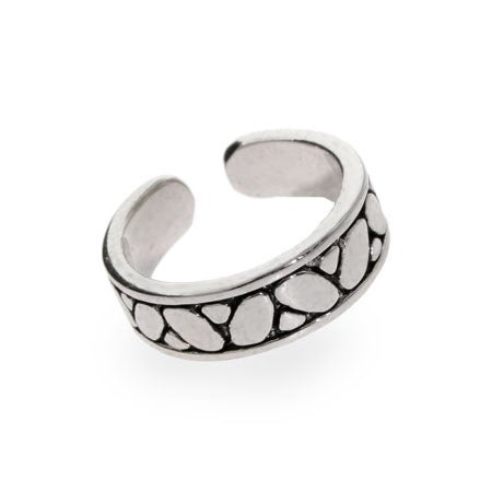 Bali Style Sterling Silver Toe Ring | Eve's Addiction®