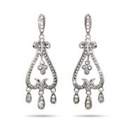 Chandelier Diamond CZ Earrings