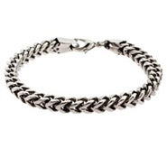 Men's Stainless Steel Foxtail Link Bracelet