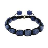 Amethyst Bead Harmony Shamballa Inspired Bracelet