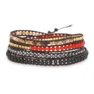 Chen Rai Mixed Stones Wrap Bracelet