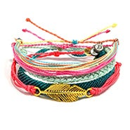 Pura Vida Stackable Bracelet Yoga Girl Pack