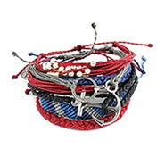 Pura Vida Stackable Bracelet Deep Blue Sea Pack