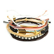 Pura Vida Stackable Bracelet Golden Coast Pack