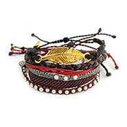 Pura Vida Stackable Bracelet Night Riot Pack