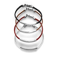 Engravable ID Bracelet with Braided Band