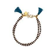 Shashi Barbara Clasp Bracelet in Bronze