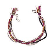 Shashi Maya Bracelet in Wine