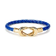Fornash Sailor's Knot Bracelet in Navy