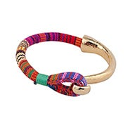 Shashi Peyton Cuff Bracelet In Pink