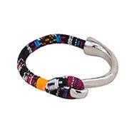 Shashi Peyton Cuff Bracelet in Black