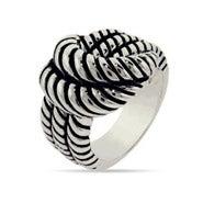 Designer Inspired Rope Knot Ring