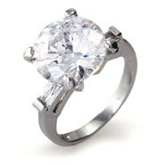 Stunning 5 Carat Brilliant Cut Right Hand Ring