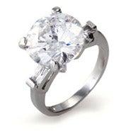 Stunning 5 Carat Brilliant Cut Right Hand Ring