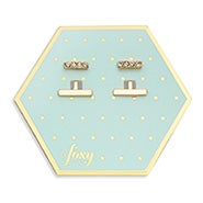 Foxy Luna Earring Jacket in Gold