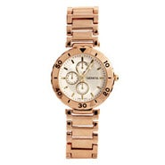 Designer Inspired Modern Rose Gold Vintage Flair Watch