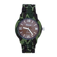 Green Camo Print Watch