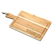 Family Name Personalized Wood Cutting Board