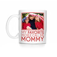 Personalized My Favorite People Call Me Mommy Photo Mug