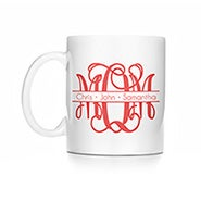 Personalized Mom Monogram Mug