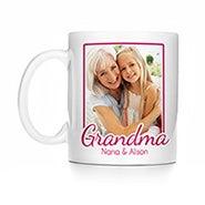 Personalized Grandma Photo Mug