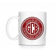 Personalized Block Monogram Graduation Mug