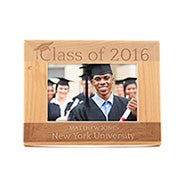 Personalized Carved Graduating Class Wood Frame